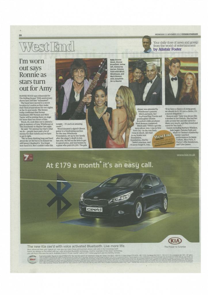 Evening Standard 22.11.12.2