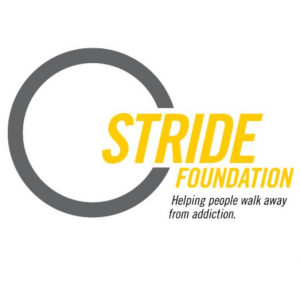 STRIDE logo White